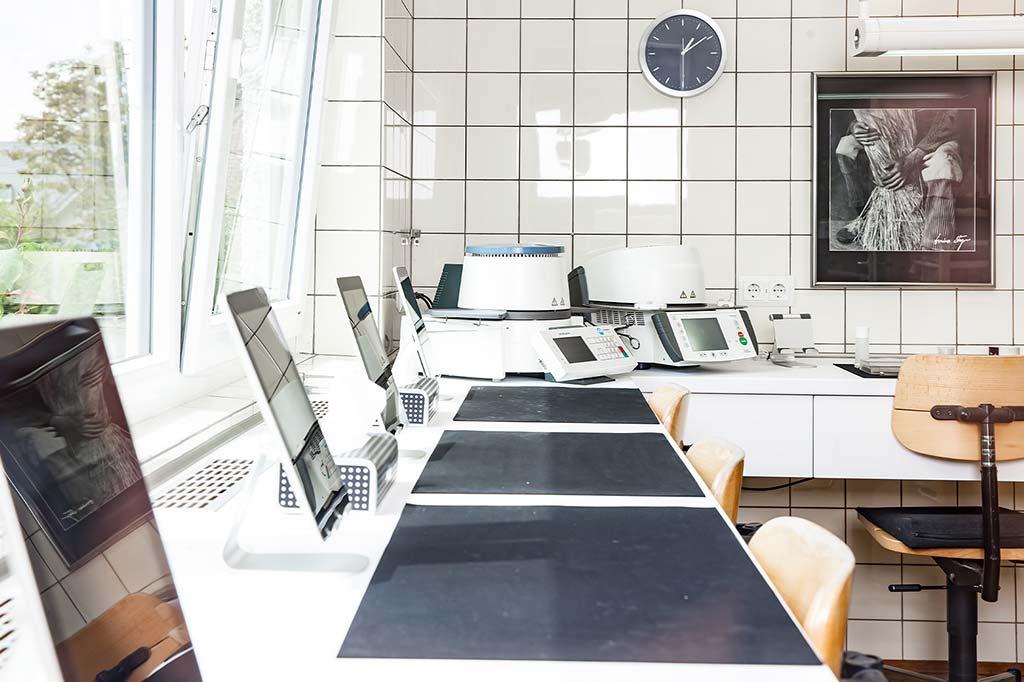 Arbeitsplätze mit moderner Technik