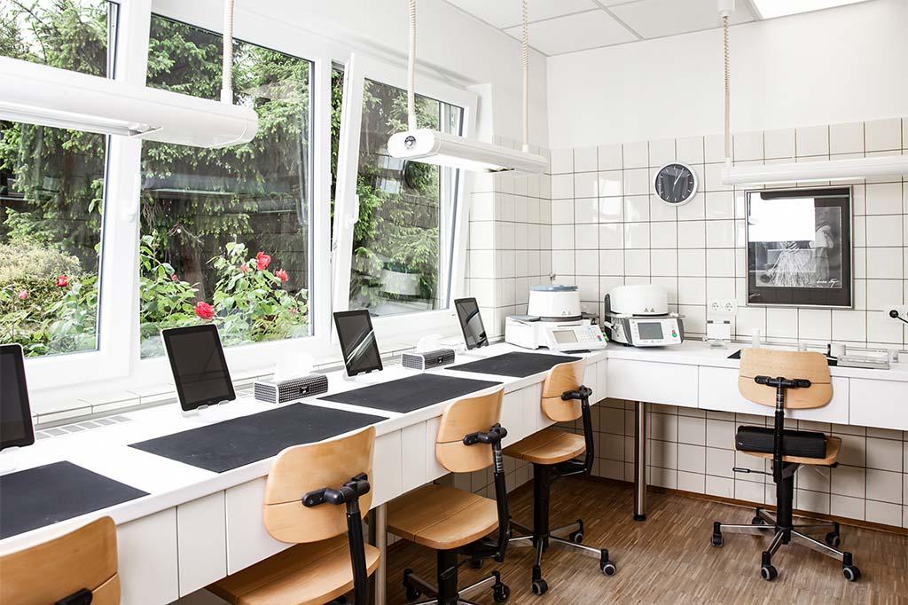 Lichtdurchflutete Arbeitsräume optimales Arbeitsumfeld