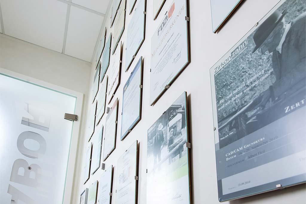 Know-how und Qualität durch ständige Fortbildung und Zertifizierung
